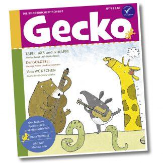 Gecko Kinderzeitschrift - Heft 71
