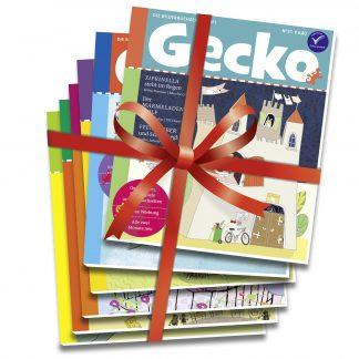 Gecko Kinderzeitschrift - Geschenkabo
