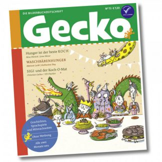 Gecko Kinderzeitschrift - Heft 73