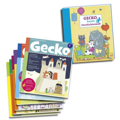 Gecko Prämienabo mit Buch