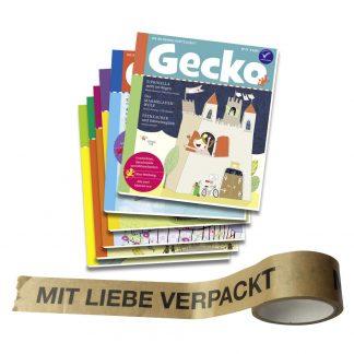 Gecko Prämienabo mit Geschenktape