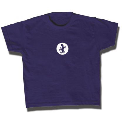 Gecko T-Shirt blau