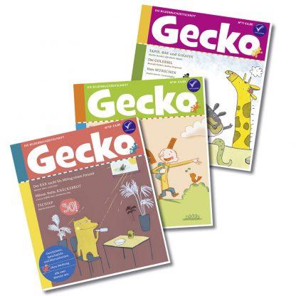 Gecko Tiergeschichten-Paket