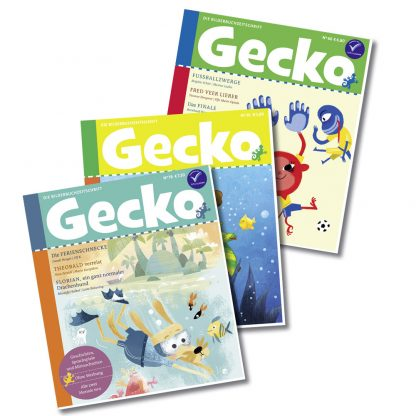 Gecko Ferienpaket